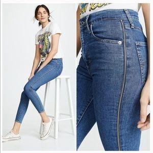 LEVI'S Mile High Super Skinny Zipper Seam Jeans 34